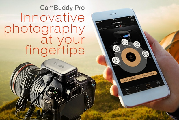 CamBuddy Pro: World's First Do-It-All DSLR Smart Controller