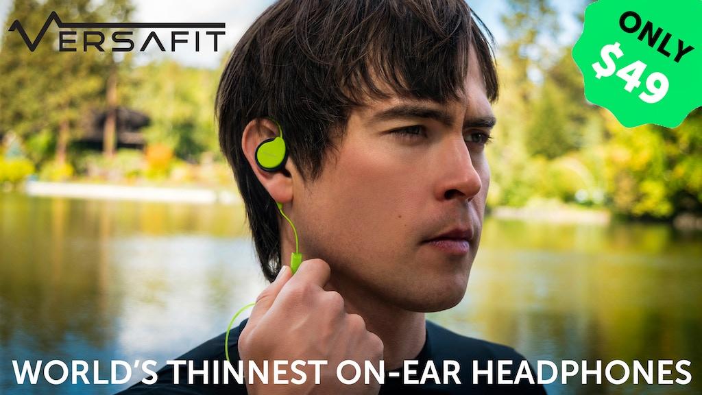 Versafit Wireless - Non Noise-Blocking Sweatproof Headphones project video thumbnail
