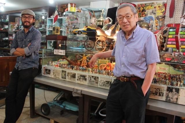 Sr. Roberto y Roberto Jr Los Fundadores.- Mr Roberto and Roberto Jr The Founders