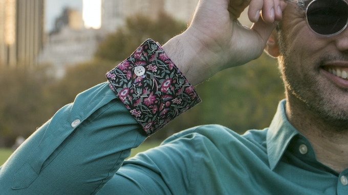 Now flip and switch the cuff for a whole new print!