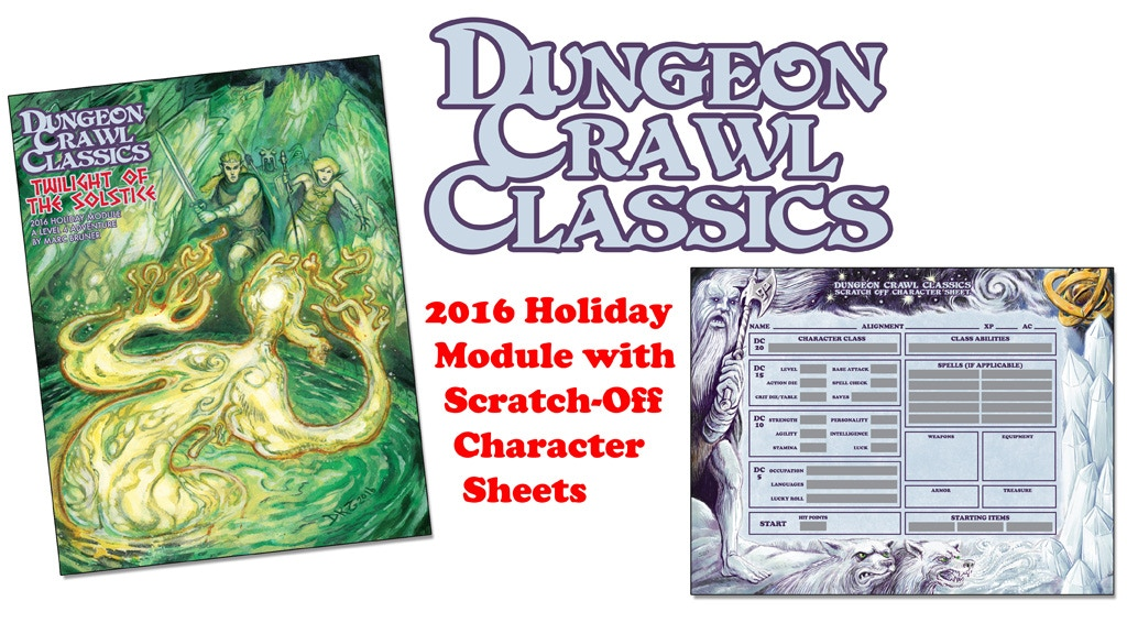 Dungeon Crawl Classics Scratch-Off Holiday Module project video thumbnail