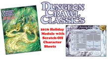 Dungeon Crawl Classics Scratch-Off Holiday Module