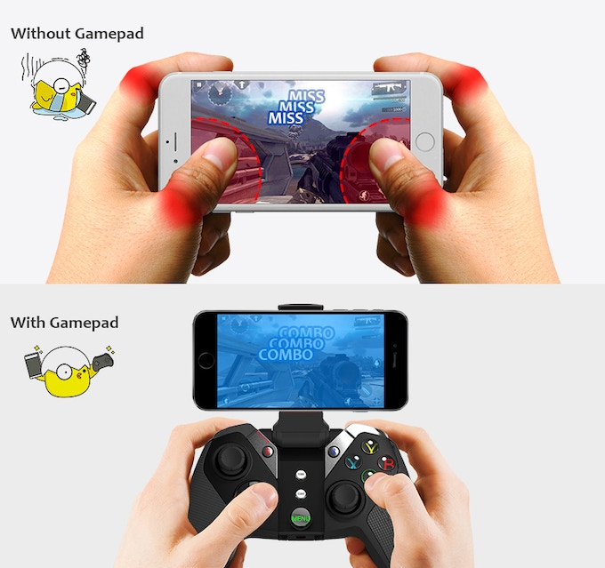 Iphone Bluetooth Loading Circle Sbode Bluetooth Speaker Portable Mpow Bluetooth Receiver Transmitter With Digital Optical Spdif Joystick Bluetooth Quanta: Turn Your IPhone Into A Handheld Game Console By Kris