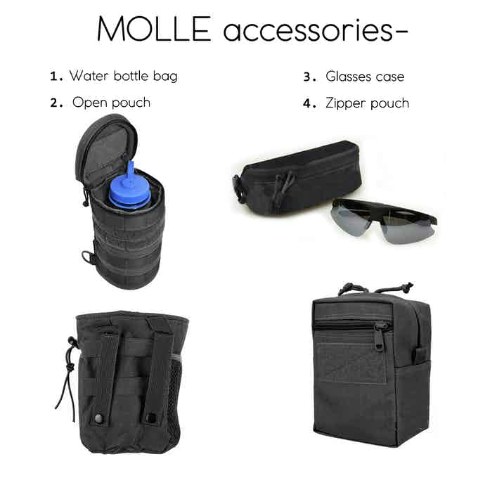 MOLLE options- plus levels