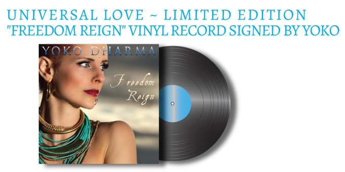 Special limited edition vinyl copy of the new album