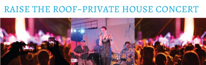 A private house concert for you & your friends