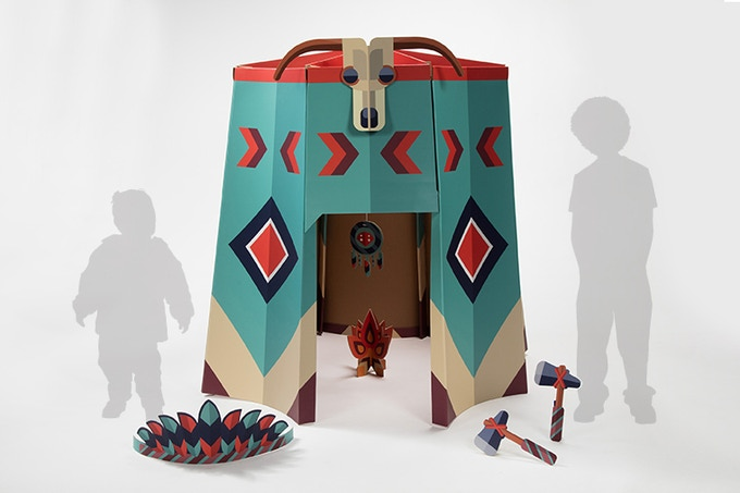 Chieftain Tipi w/ Accessories (full sized)