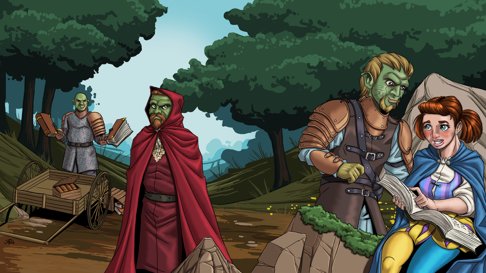 Teach yourself Orcish! A reference guide to the Orcish language from the hit web series JourneyQuest.