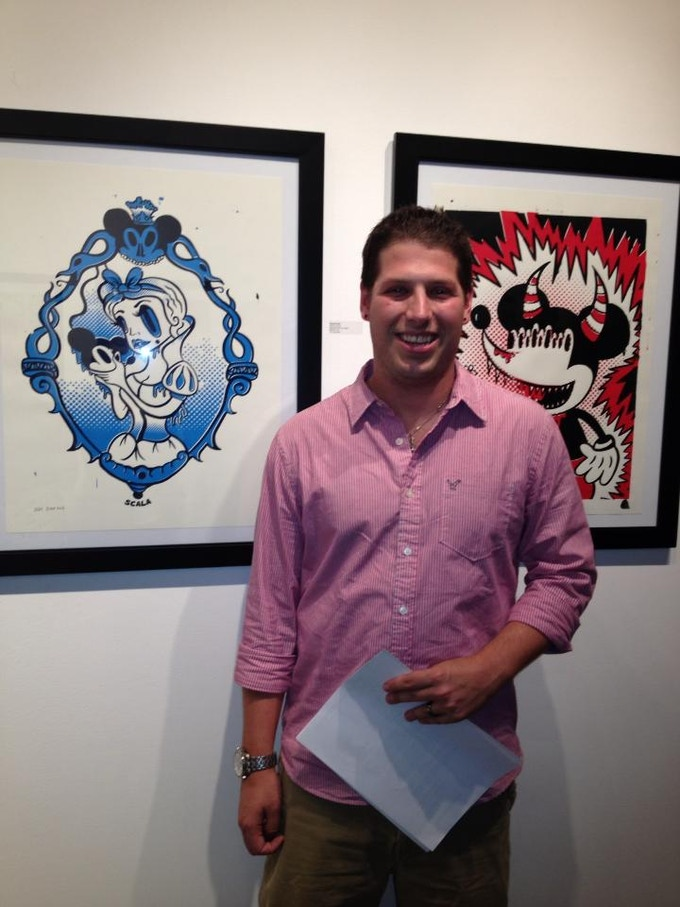 Me @ Bunnycutlet Gallery Opening !
