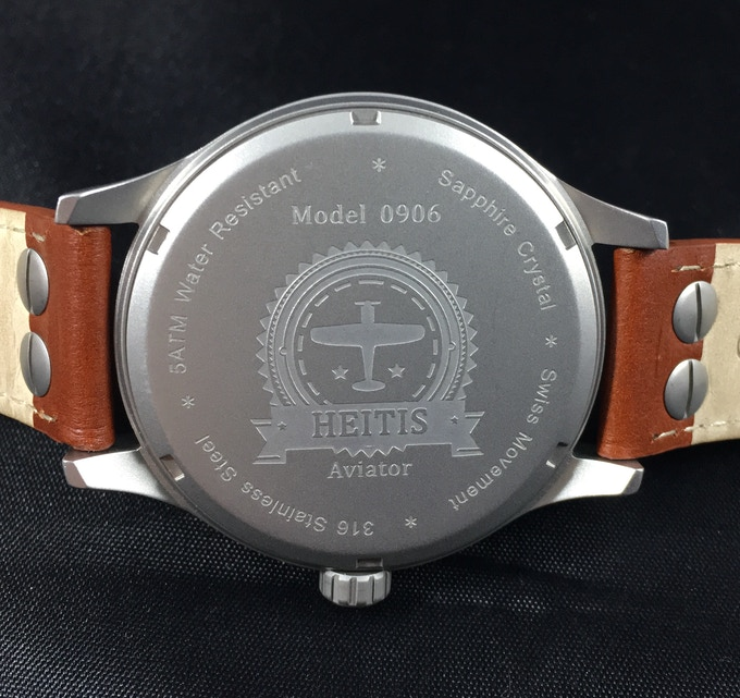 The HEITIS Aviator Caseback