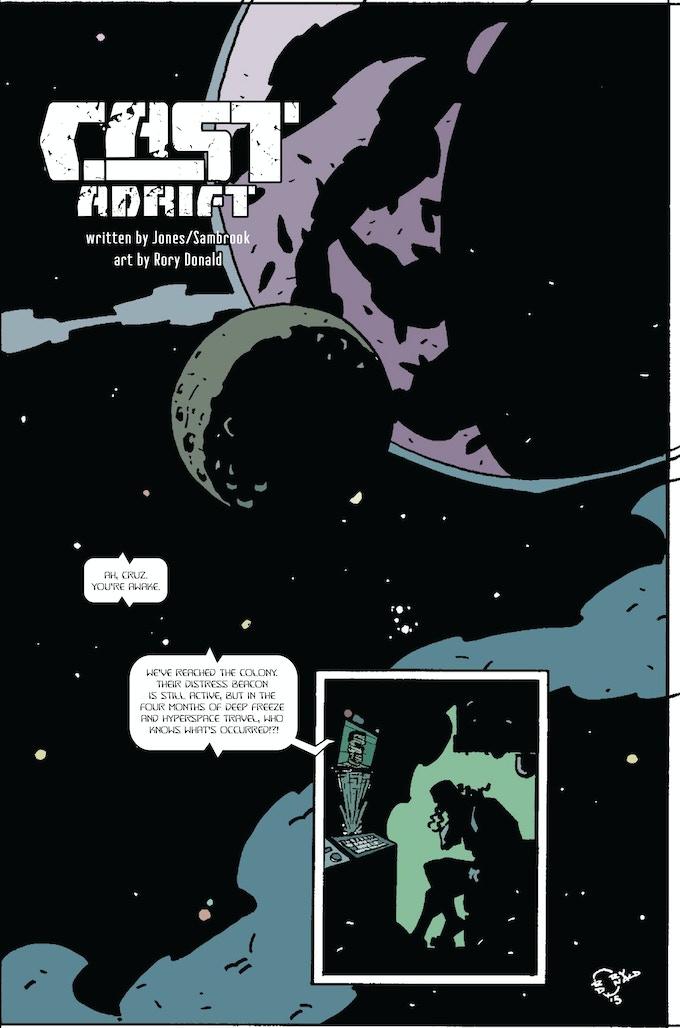 Page One - Cast Adrift Donald/Jones/Sambrook