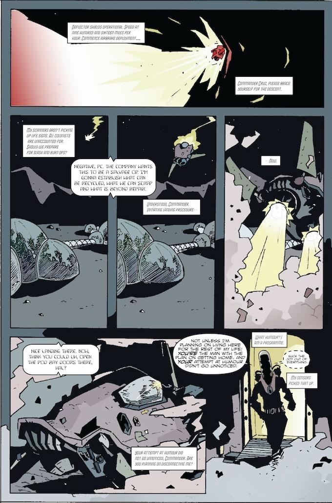 Page Three - Cast Adrift Donald/Jones/Sambrook
