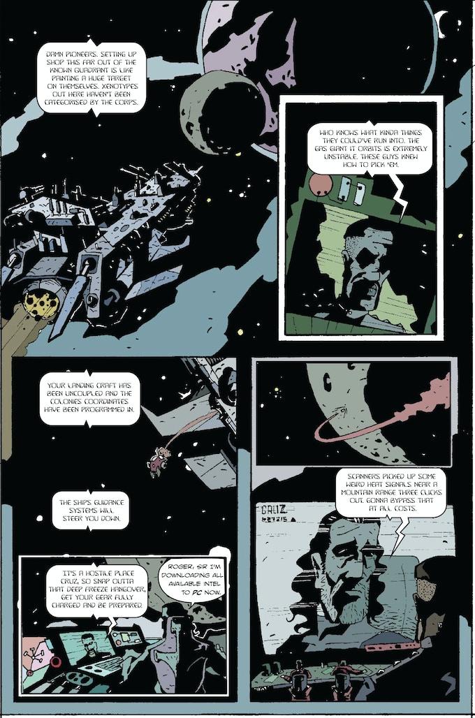 Page Two - Cast Adrift Donald/Jones/Sambrook