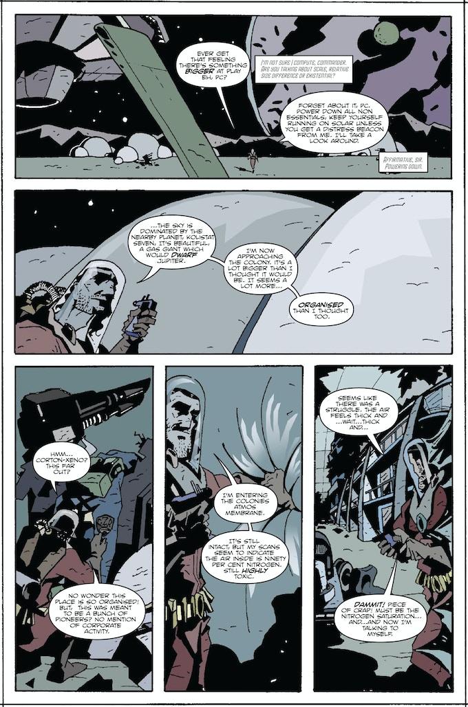 Page Four - Cast Adrift Donald/Jones/Sambrook