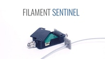 SENTINEL : 3D printer filament detector and cleaner