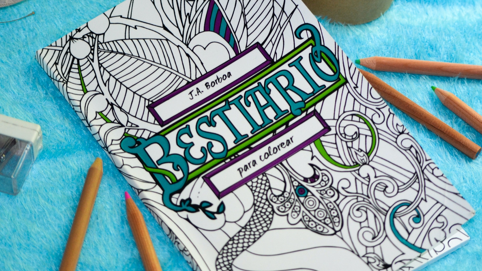 Bestiary Coloring Book by J.A. Borboa — Kickstarter