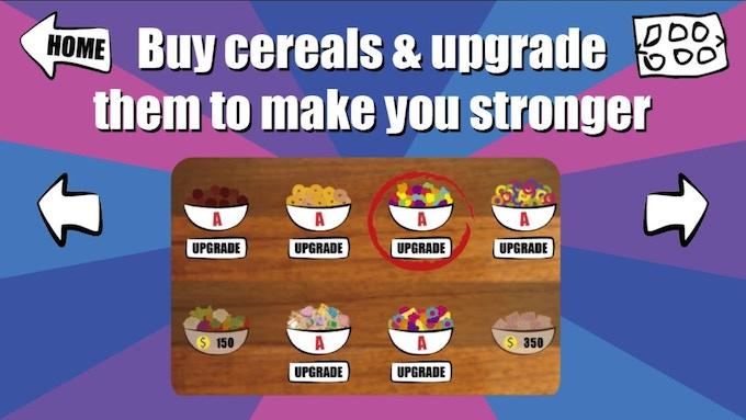 Buy & Upgrate Cereals