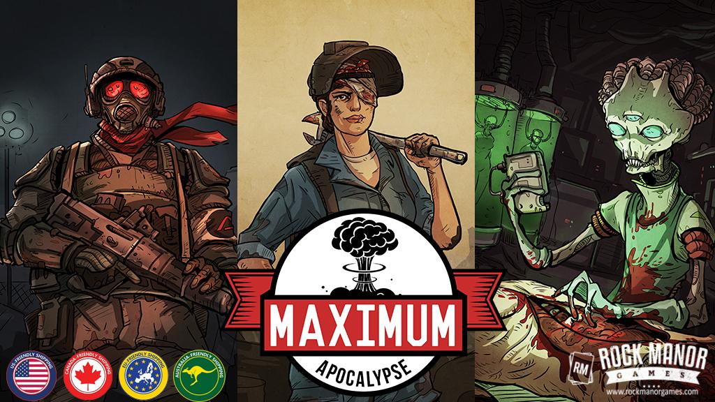 Maximum Apocalypse project video thumbnail