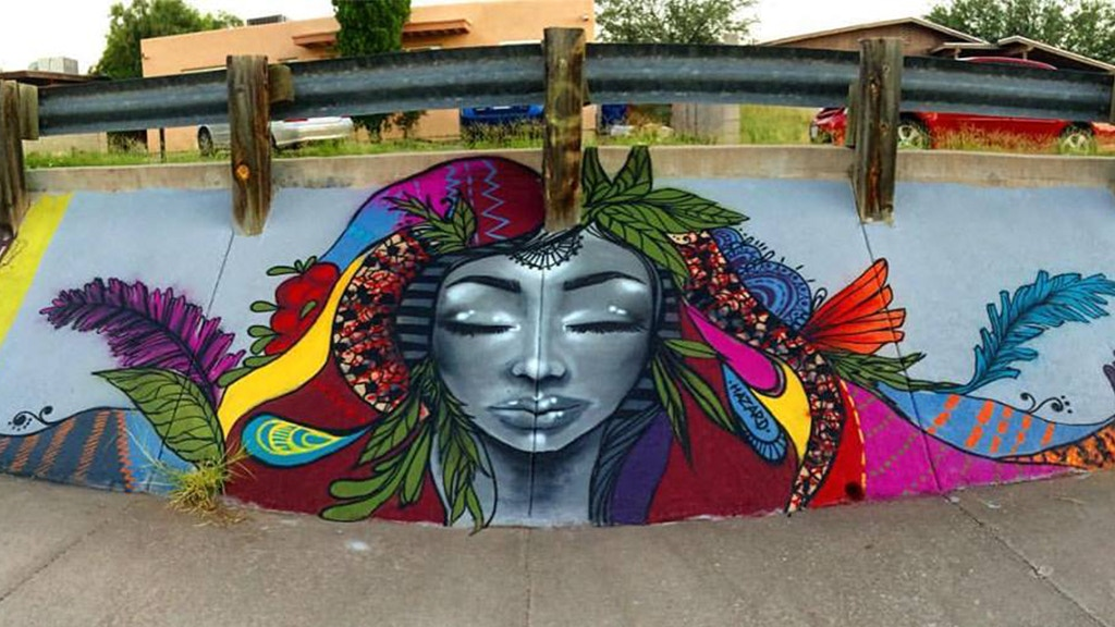 Arizona-Mexico Border Town Mural Project project video thumbnail