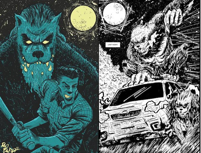 Samples of Dan Buksa's art!