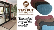 The Stay Put Rug... The safest rug in the world.
