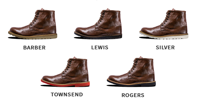 Stretch goal: brown Oxford boots