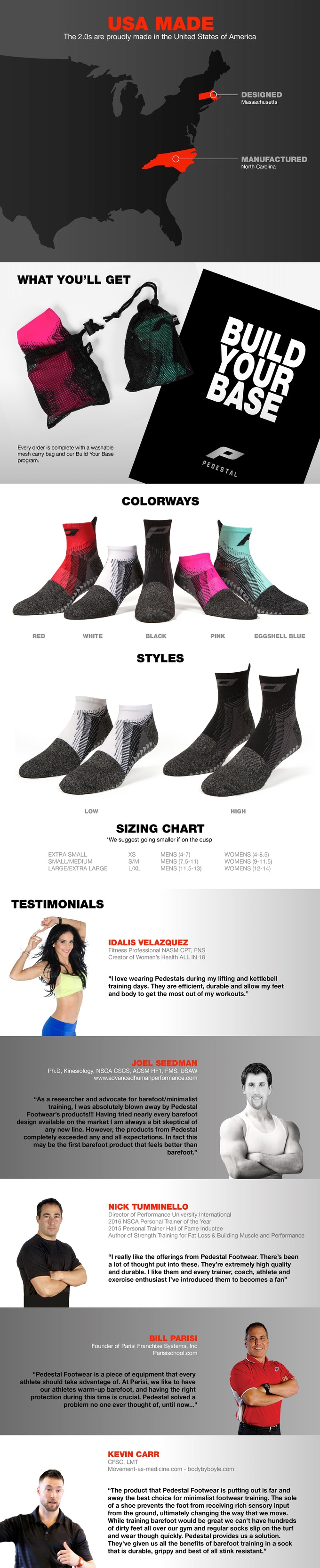 25364c98bd1 Pedestal Footwear: The Future of Performance Training by Pedestal ...