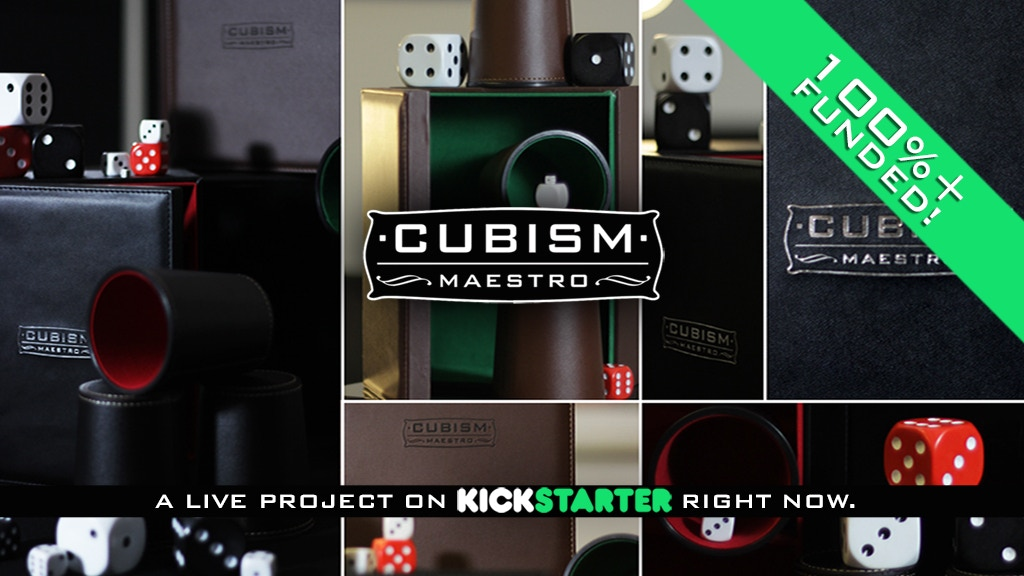 Cubism : Maestro - Magic 'cups and balls' set for magicians. project video thumbnail