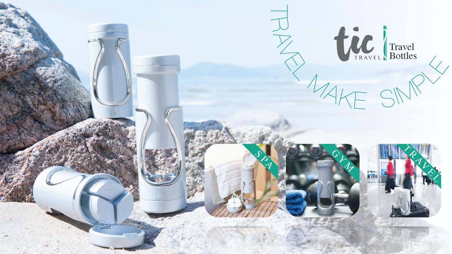 Tic - Smart Bottles for Life\'s Travels by TIC Design — Kickstarter