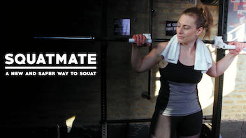 SQUATMATE: A new and safer way to squat!