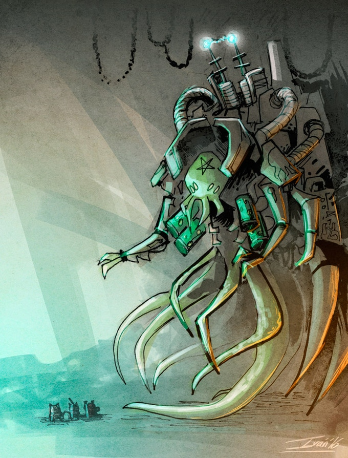 Cthulhu Early Concept