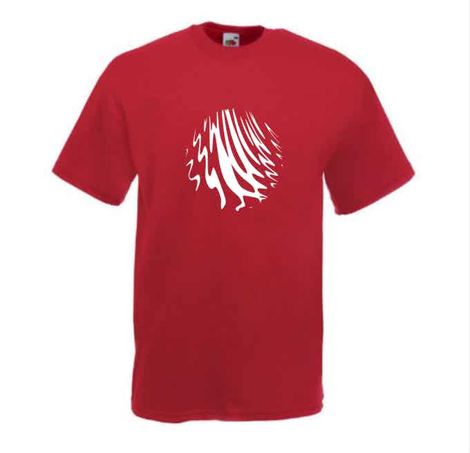 Red cotton t-shirt