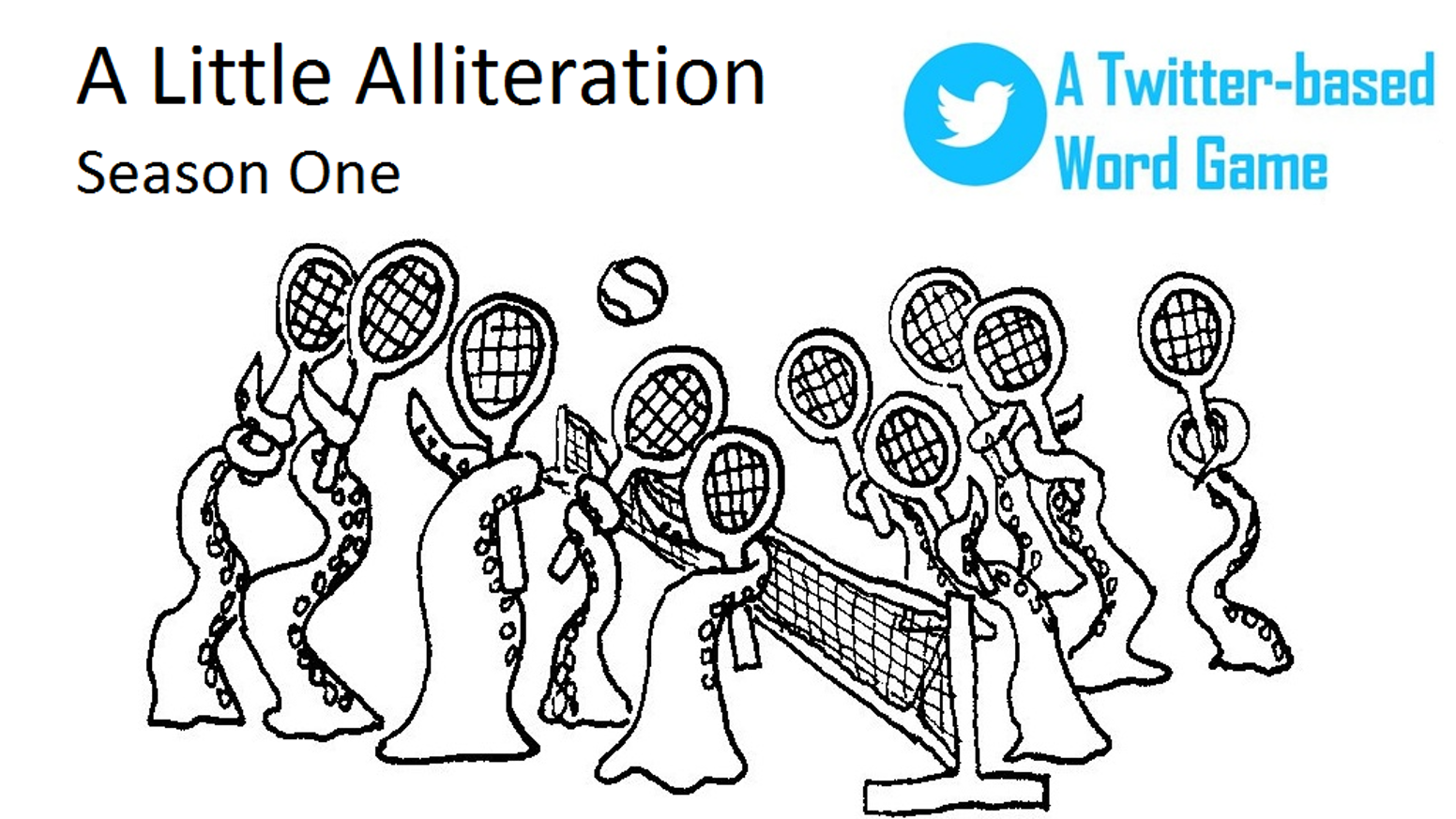 A Little Alliteration A Twitter Word Game Season One By Chip