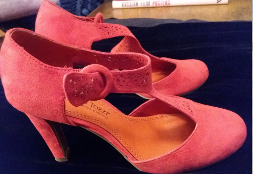 Red Shoes of Miss O.