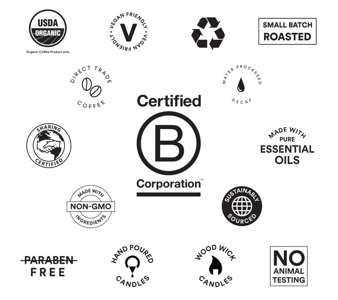 Details about our products and our B-Corp Certification
