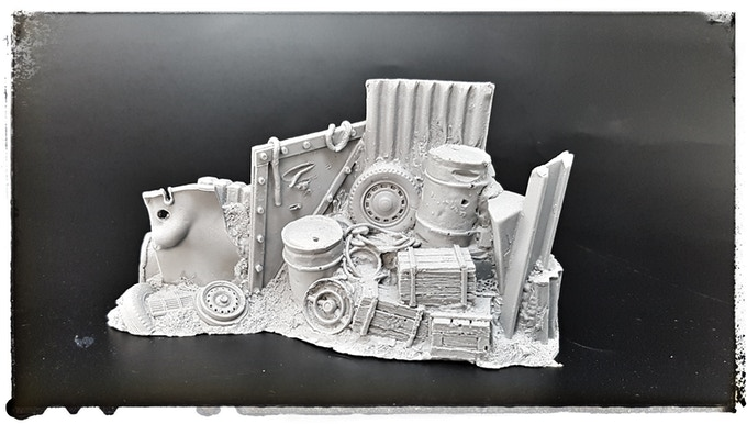 All sets come unpainted in a high quality cast