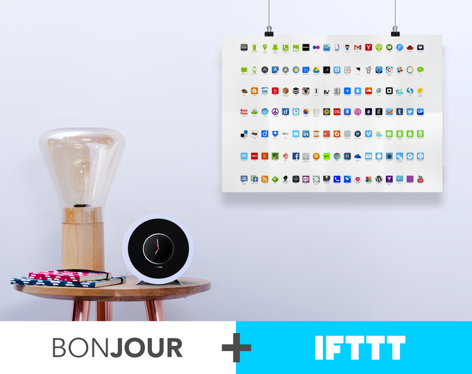 Bonjour's IFTTT integration brings your favorite services together.