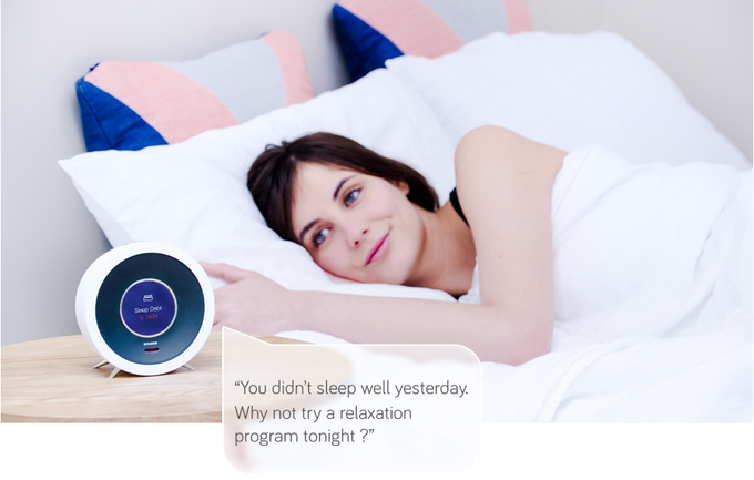 Improve your sleep with personalized advice.