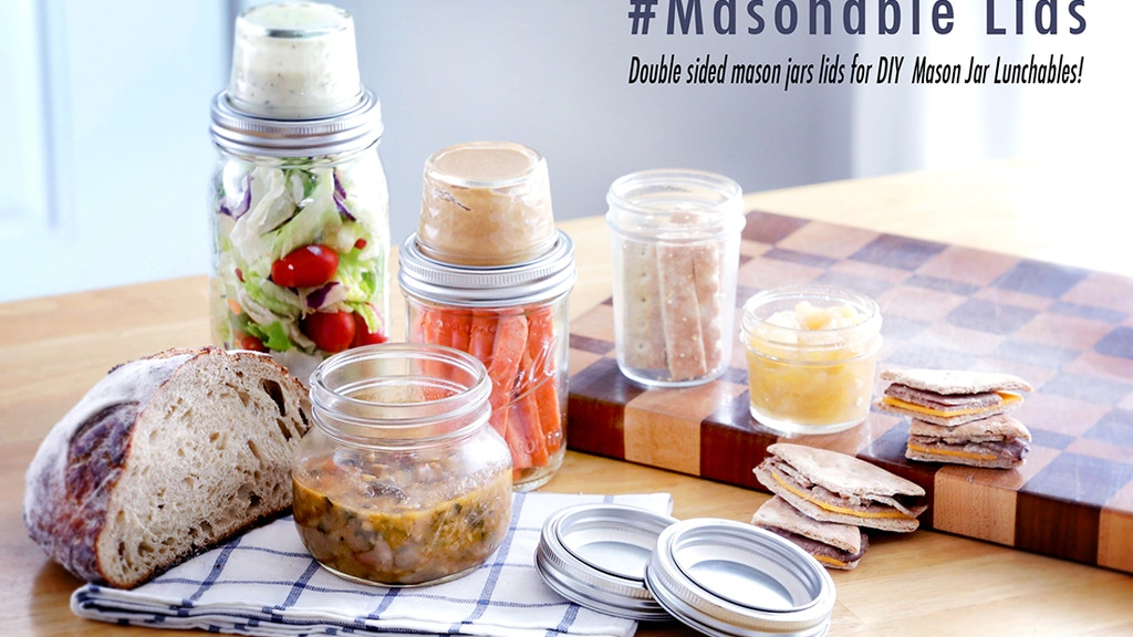Mason to Go #Masonables - Easy Mason Jar Lunchables project video thumbnail