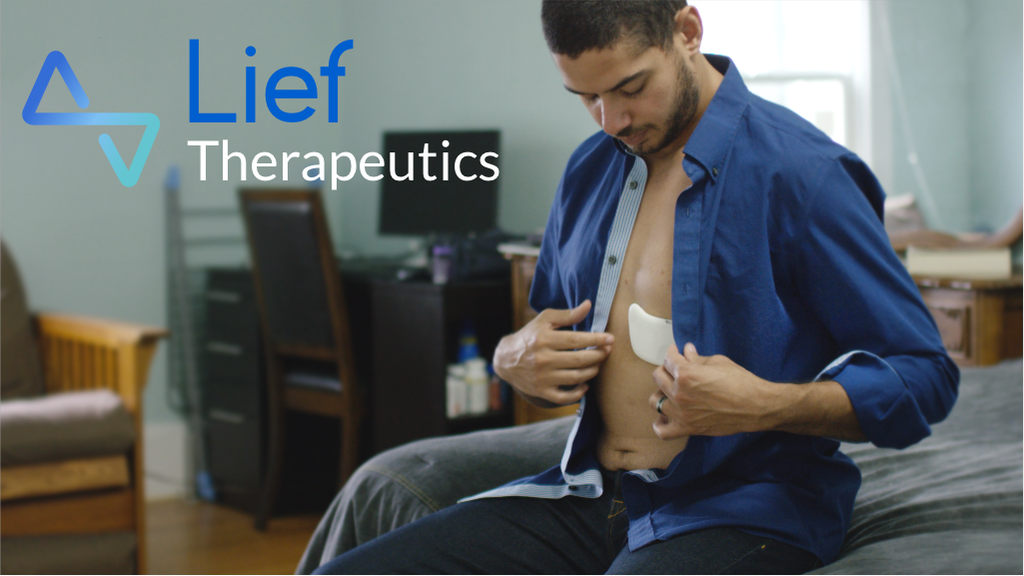 Lief | Smart patch that fights stress project video thumbnail