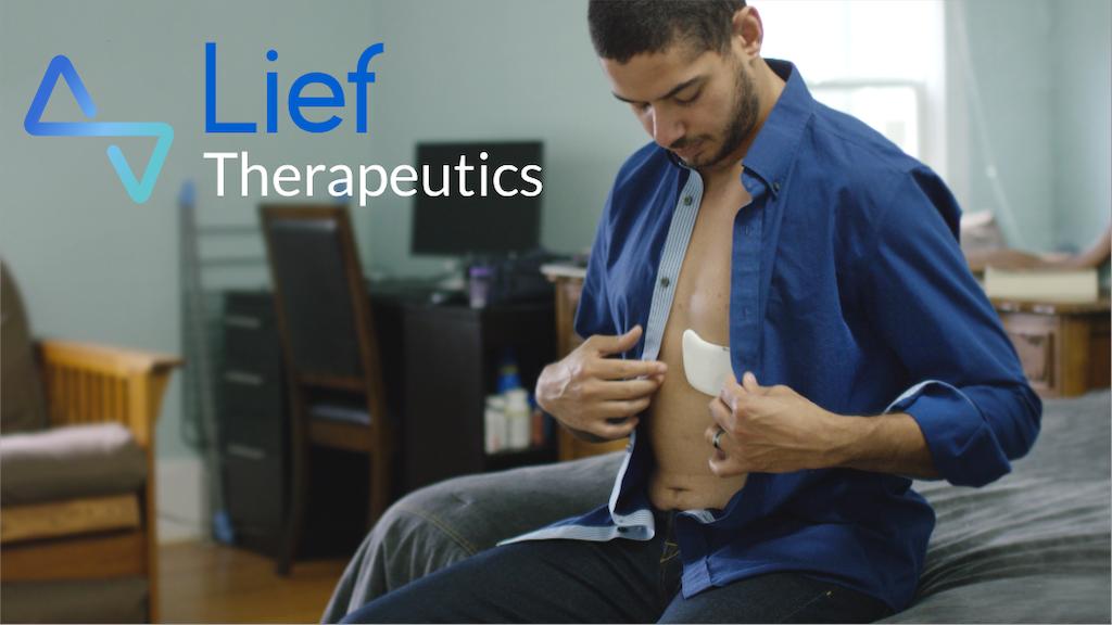 Miniature de la vidéo du projet Lief | Smart patch that fights stress