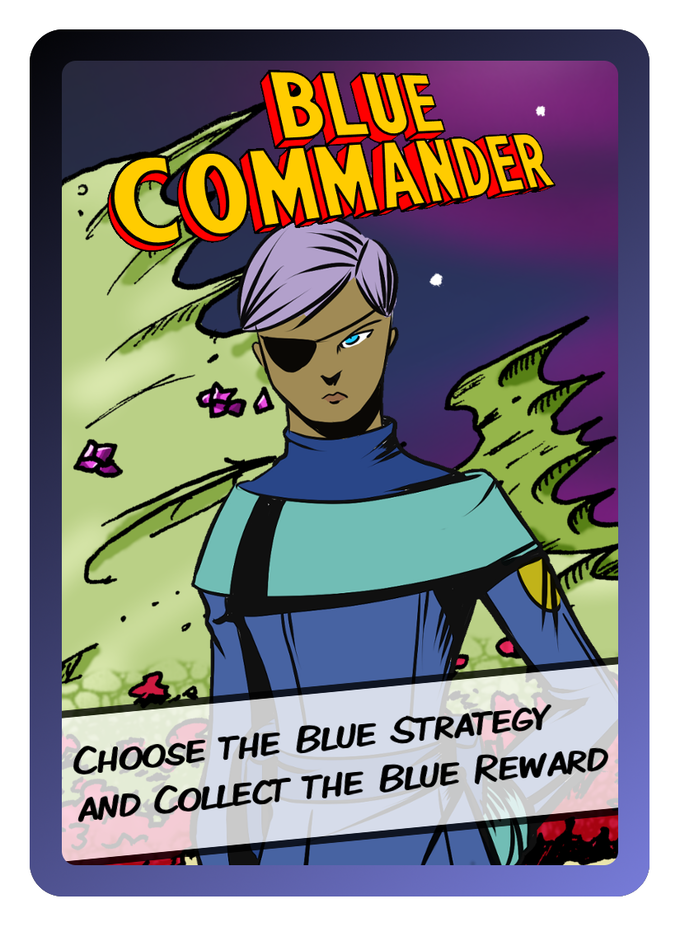 The Blue Commander