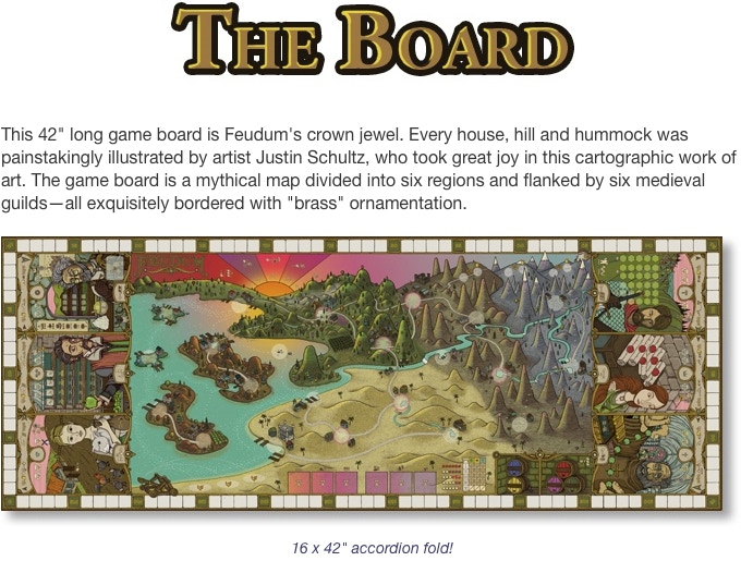 Feudum: A nuanced game of hand & resource management by Mark