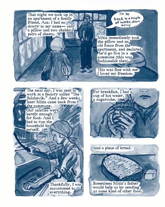 Page 73: A communist wedding night