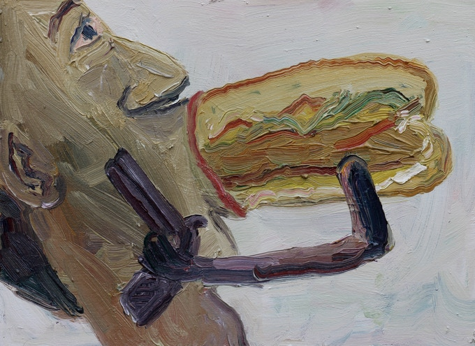 Chicken Sandwich blow job at gunpoint $200