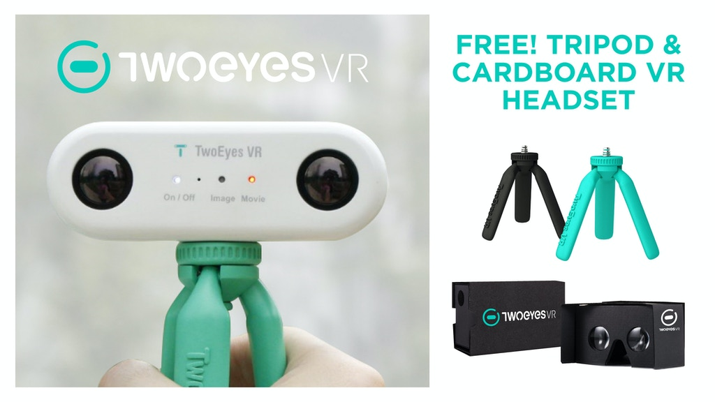 TwoEyes VR 360 camera project video thumbnail