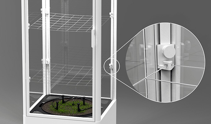 Yield Boost Nets - Height adjustable. Support your plant and maximize its volume: Come only with the $1299 reward.