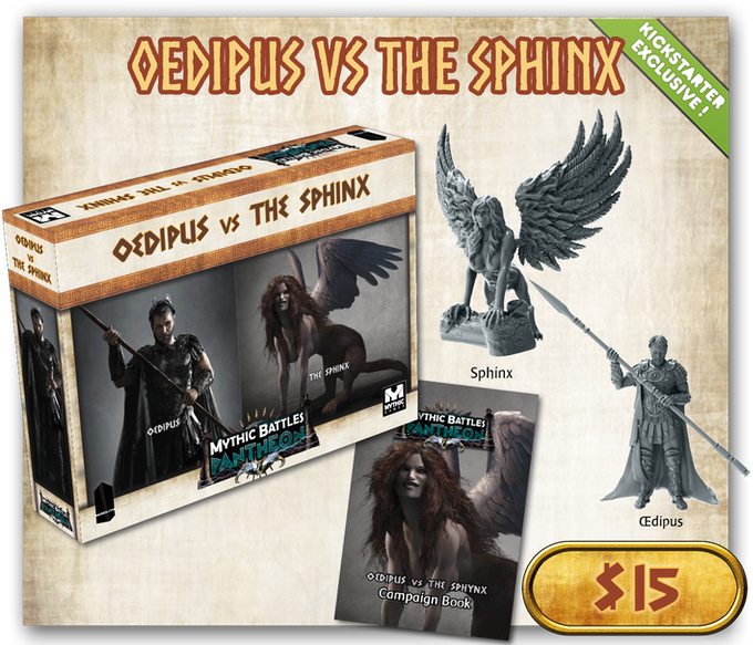 CLICK ON THE PICTURE TO LEARN MORE ABOUT OEDIPE vs SPHINX