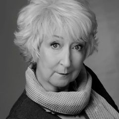 Jo Cameron Brown, an experience television actress and theater artist, as Landlady