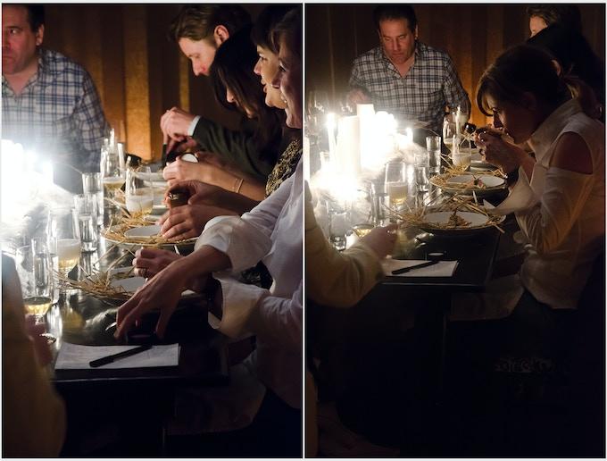 Diners Exploring Taste